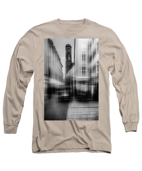 Frauenkirche - Muenchen V - Bw Long Sleeve T-Shirt