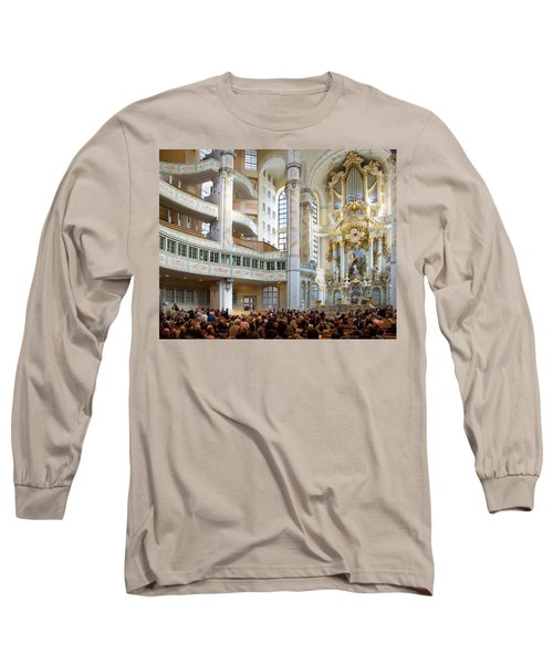Frauenkirche Long Sleeve T-Shirt by William Beuther