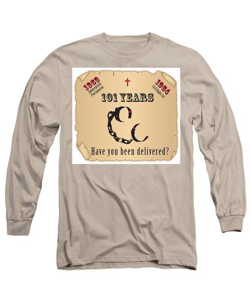 Free At Last Long Sleeve T-Shirt