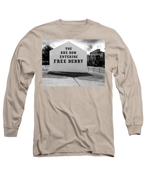 Free Derry Corner 9 Long Sleeve T-Shirt