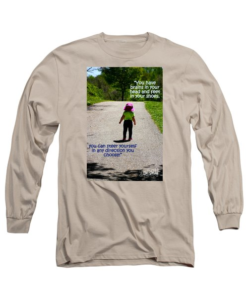 Momentary Freedom Long Sleeve T-Shirt by Patti Whitten