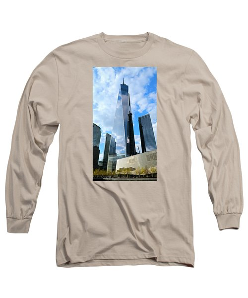 Freedom Tower Long Sleeve T-Shirt by Stephen Stookey