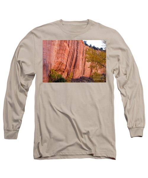 Fremont River Cliffs Capitol Reef National Park Long Sleeve T-Shirt