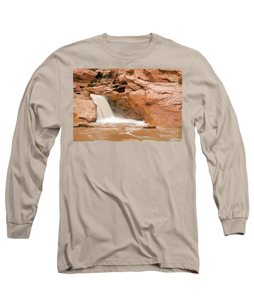 Fremont River Falls Capitol Reef National Park Long Sleeve T-Shirt