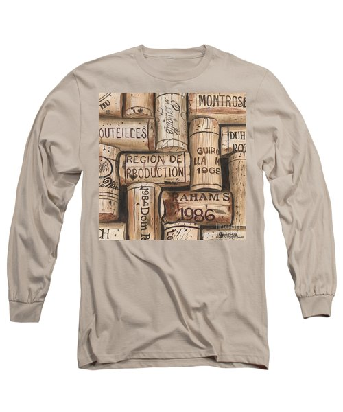 French Corks Long Sleeve T-Shirt