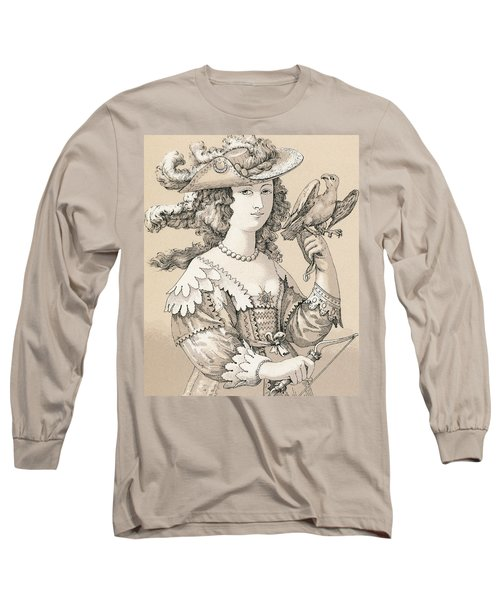 French Seventeenth Century Costume Long Sleeve T-Shirt
