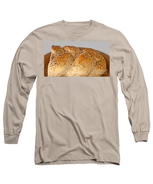 Fresh Challah Bread Art Prints Long Sleeve T-Shirt by Valerie Garner