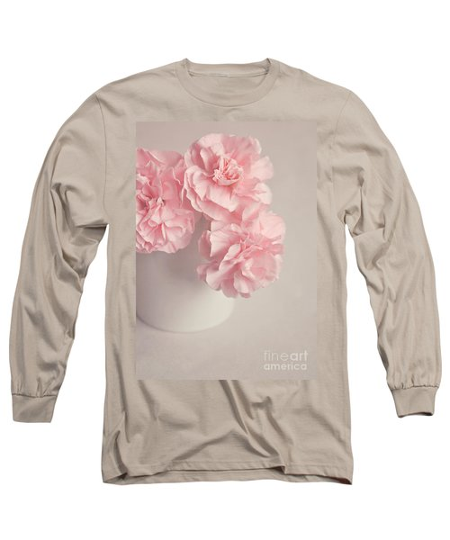 Frilly Pink Carnations Long Sleeve T-Shirt