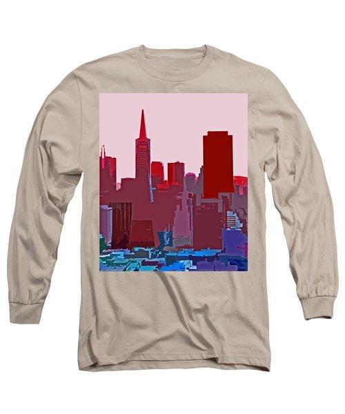 Frisco Skyline Long Sleeve T-Shirt