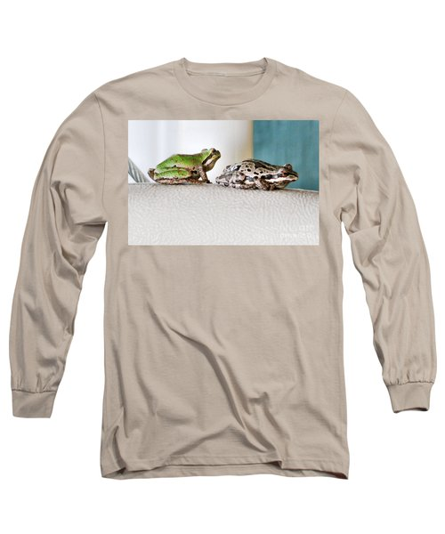 Frog Flatulence - A Case Study Long Sleeve T-Shirt