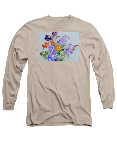 From Grammy's Garden Long Sleeve T-Shirt by Beverley Harper Tinsley