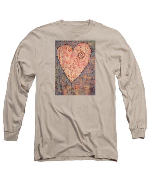 From The Heart Long Sleeve T-Shirt by Lynda Hoffman-Snodgrass