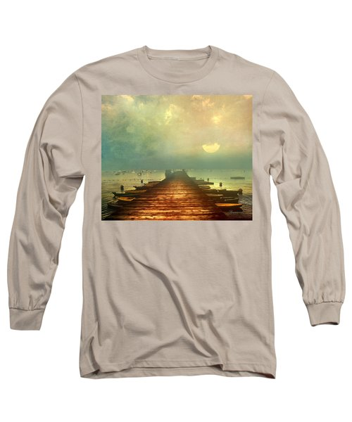 From The Moon To The Mist Long Sleeve T-Shirt