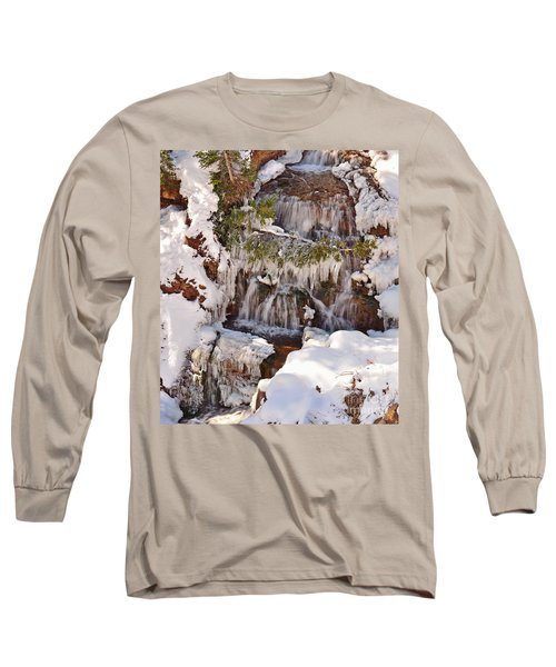 Frosty Cascades Long Sleeve T-Shirt