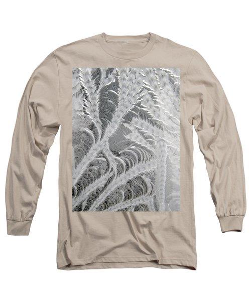 Frosty Window Art Long Sleeve T-Shirt