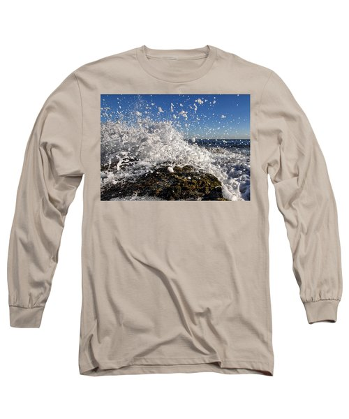 Froth And Bubble Long Sleeve T-Shirt