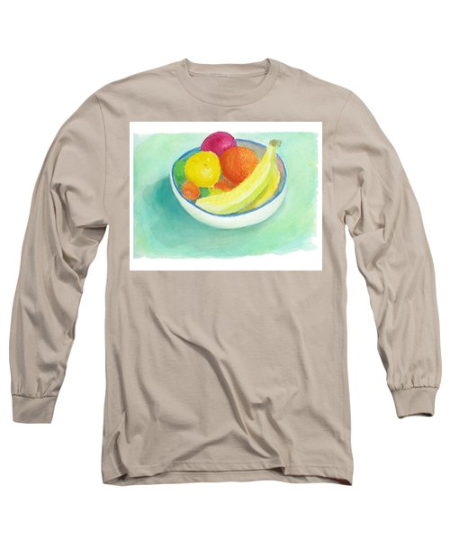 Fruit Bowl Long Sleeve T-Shirt by C Sitton