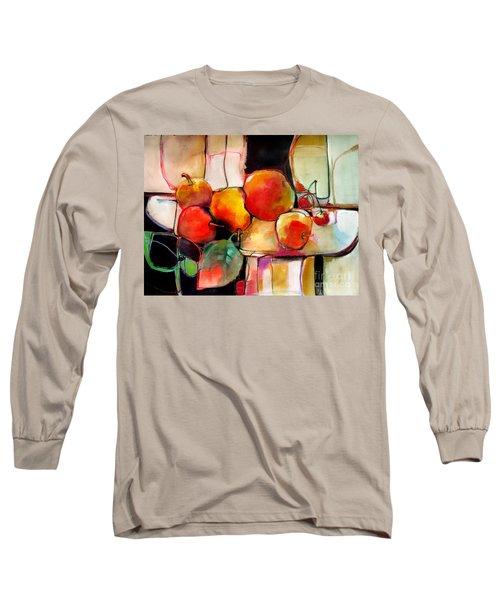 Fruit On A Dish Long Sleeve T-Shirt