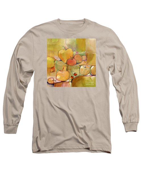 Long Sleeve T-Shirt featuring the painting Fruit Still Life by Michelle Abrams