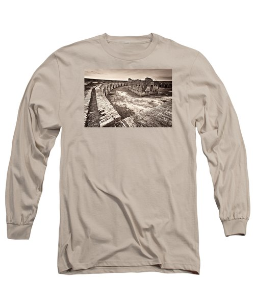 Long Sleeve T-Shirt featuring the photograph Ft. Pike Overview by Tim Stanley