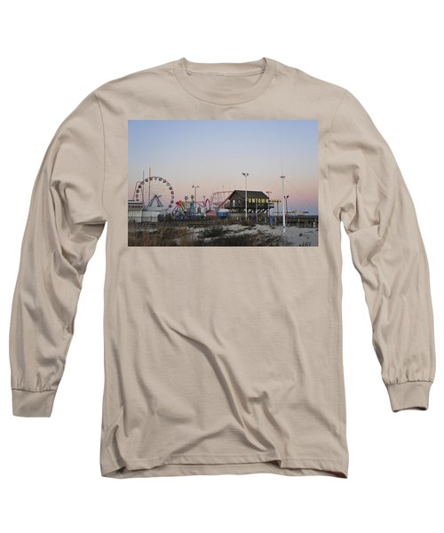Fun At The Shore Seaside Park New Jersey Long Sleeve T-Shirt