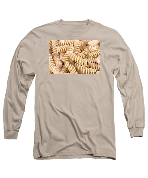 Fusilli Rotini Pasta  Long Sleeve T-Shirt by Vizual Studio