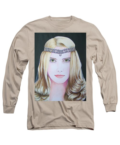 Galadriel Of Lothlorien Long Sleeve T-Shirt