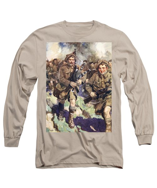 Gallant Piper Leading The Charge Long Sleeve T-Shirt