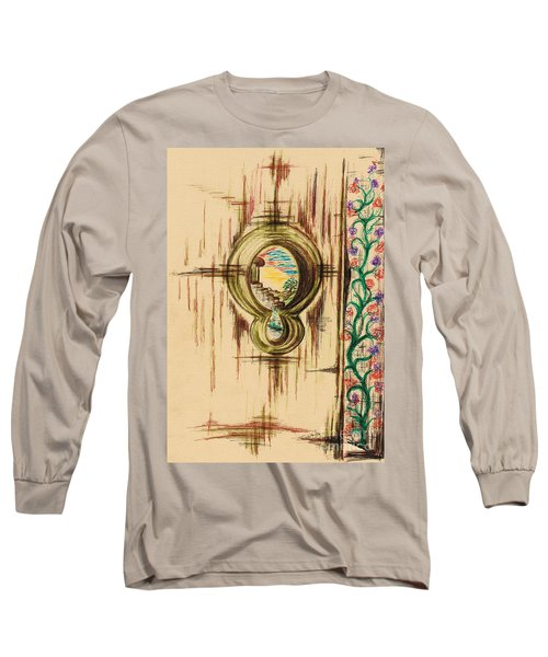 Garden Through The Key Hole Long Sleeve T-Shirt