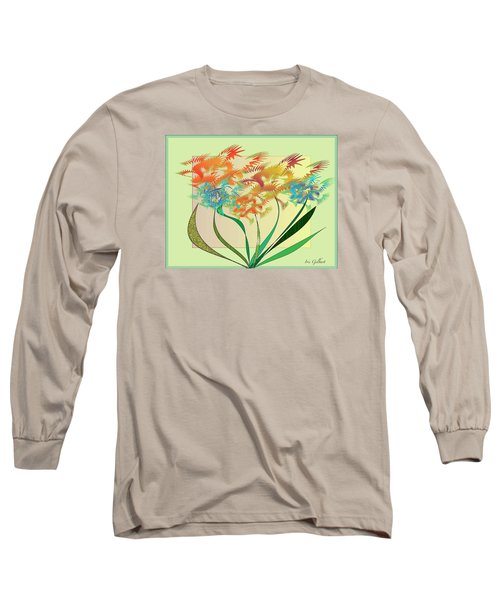 Garden Wonder Long Sleeve T-Shirt by Iris Gelbart