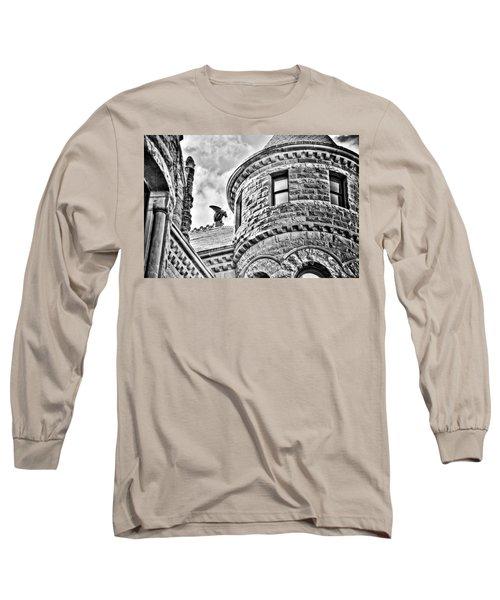 Gargoyle Long Sleeve T-Shirt by Mark Alder