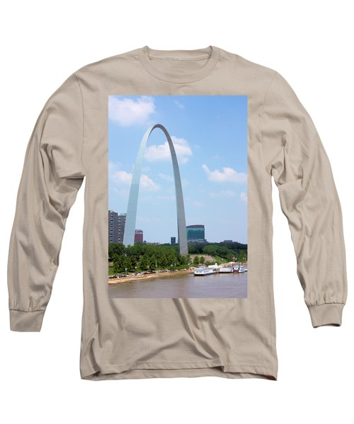 Gateway To The West Long Sleeve T-Shirt by Kristin Elmquist