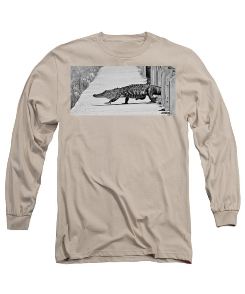 Gator Walking Long Sleeve T-Shirt