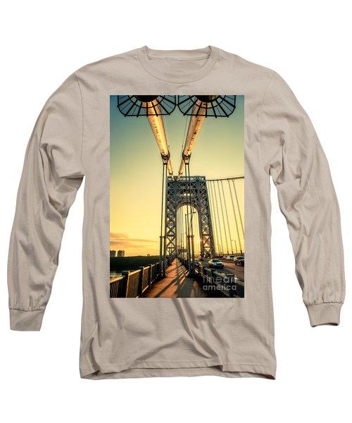 George Washington Sunset Long Sleeve T-Shirt