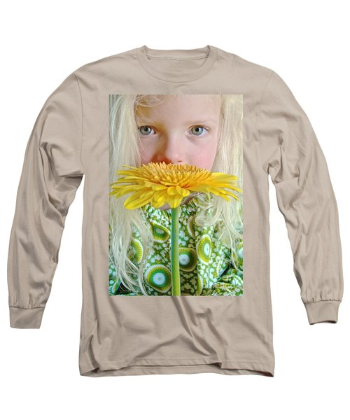 Gerbera Girl Long Sleeve T-Shirt