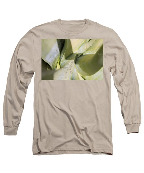 Giant Agave Abstract 3 Long Sleeve T-Shirt