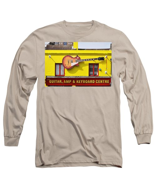 Giant Gibson Les Paul Long Sleeve T-Shirt