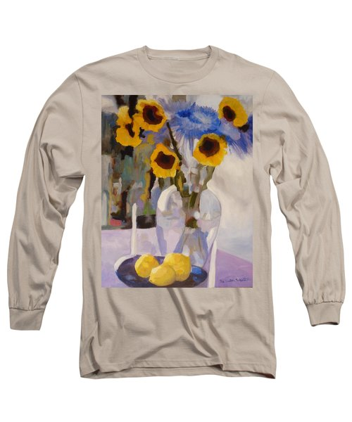 Gifts Of The Sun Long Sleeve T-Shirt by Susan Duda