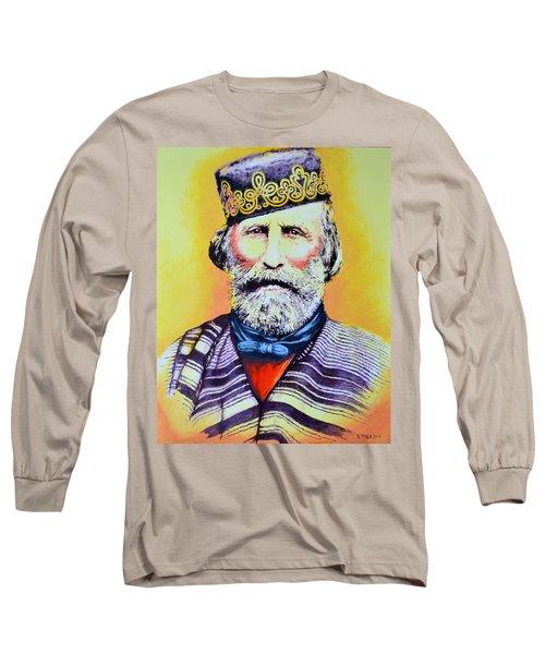 Giuseppe Garibaldi Long Sleeve T-Shirt