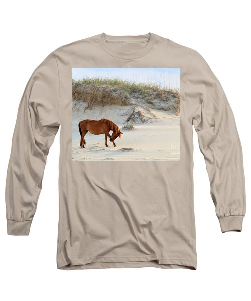 Giving Thanks Long Sleeve T-Shirt by Debbie Green