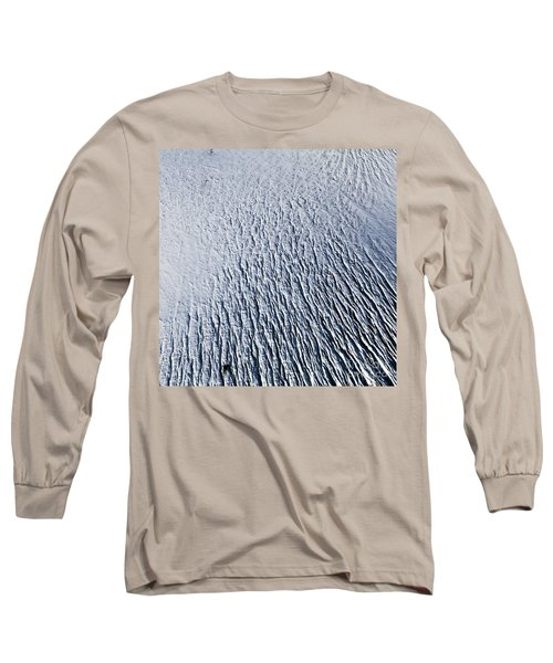 Long Sleeve T-Shirt featuring the photograph Glacier by Gunnar Orn Arnason