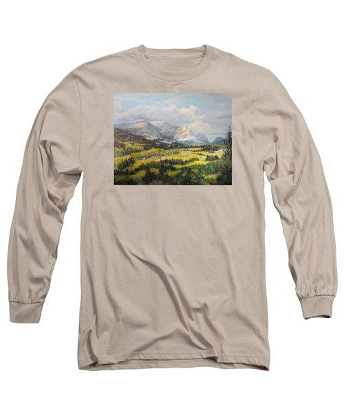 Glacier Splendor Long Sleeve T-Shirt