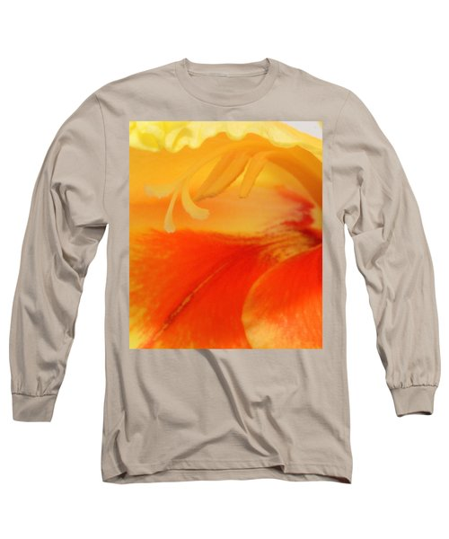Gladiola Hello Long Sleeve T-Shirt