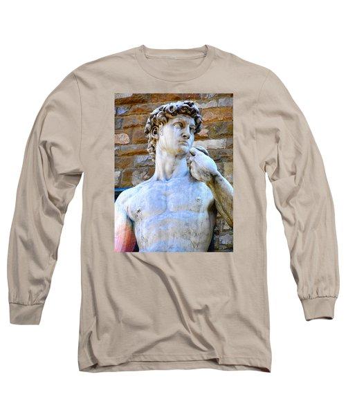 Glance At David Long Sleeve T-Shirt