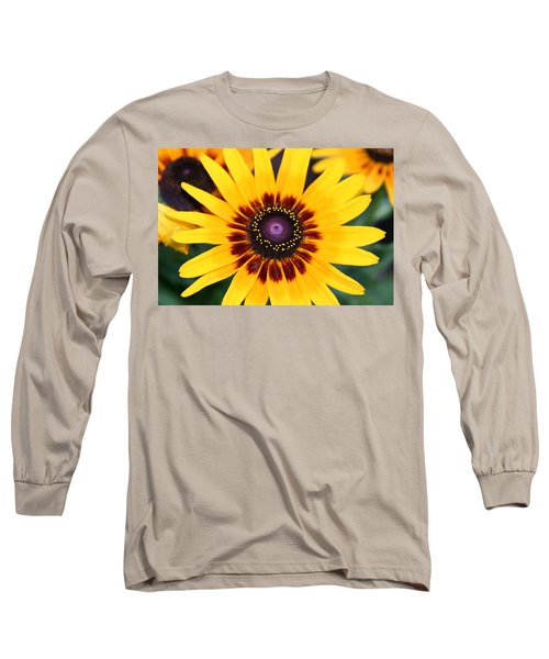 Gloriosa Daisy Long Sleeve T-Shirt by Denyse Duhaime