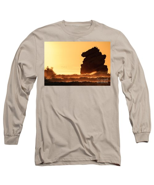 Glorious Afternoon At Morro Bay Long Sleeve T-Shirt