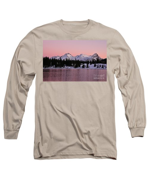 God's Light Painting At Molas Lake Long Sleeve T-Shirt