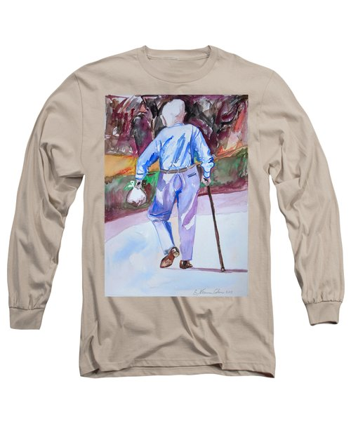 Going Home Long Sleeve T-Shirt by Esther Newman-Cohen