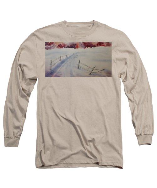Going Home Long Sleeve T-Shirt by Richard Faulkner