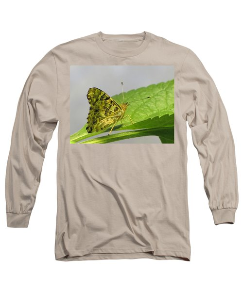 Gold And Green  Long Sleeve T-Shirt by Jennifer Wheatley Wolf